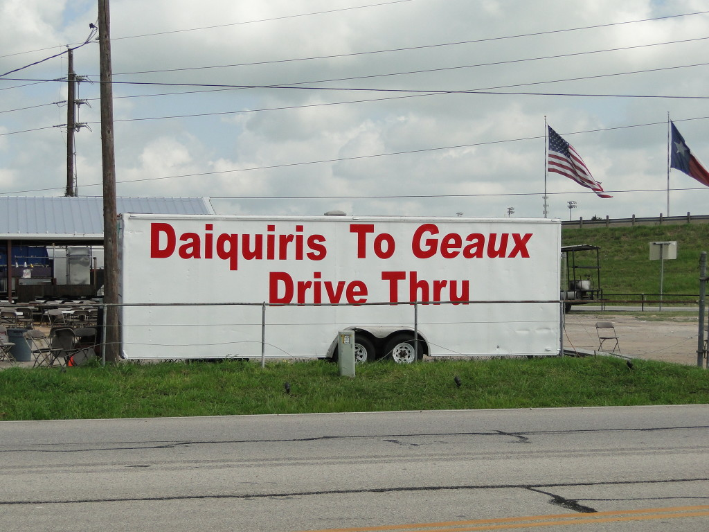 Picture of Drive Thru Daiquirs  Sign