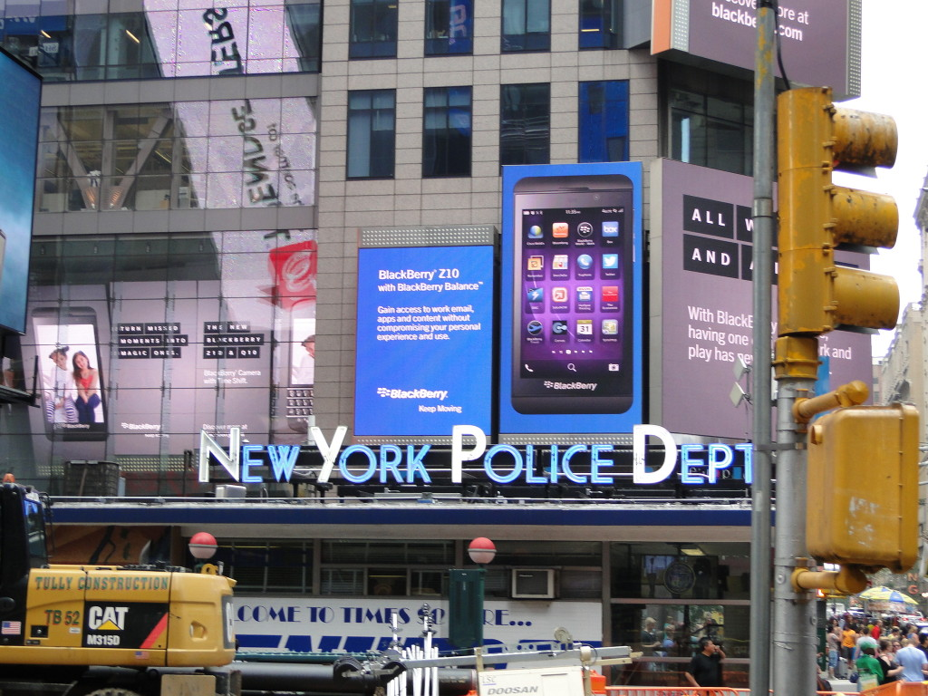 pic Times Square Police Station