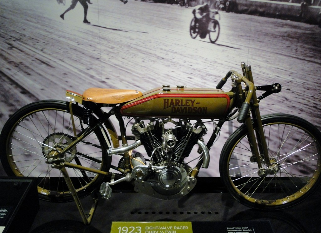 Harley Museum - Board track racer