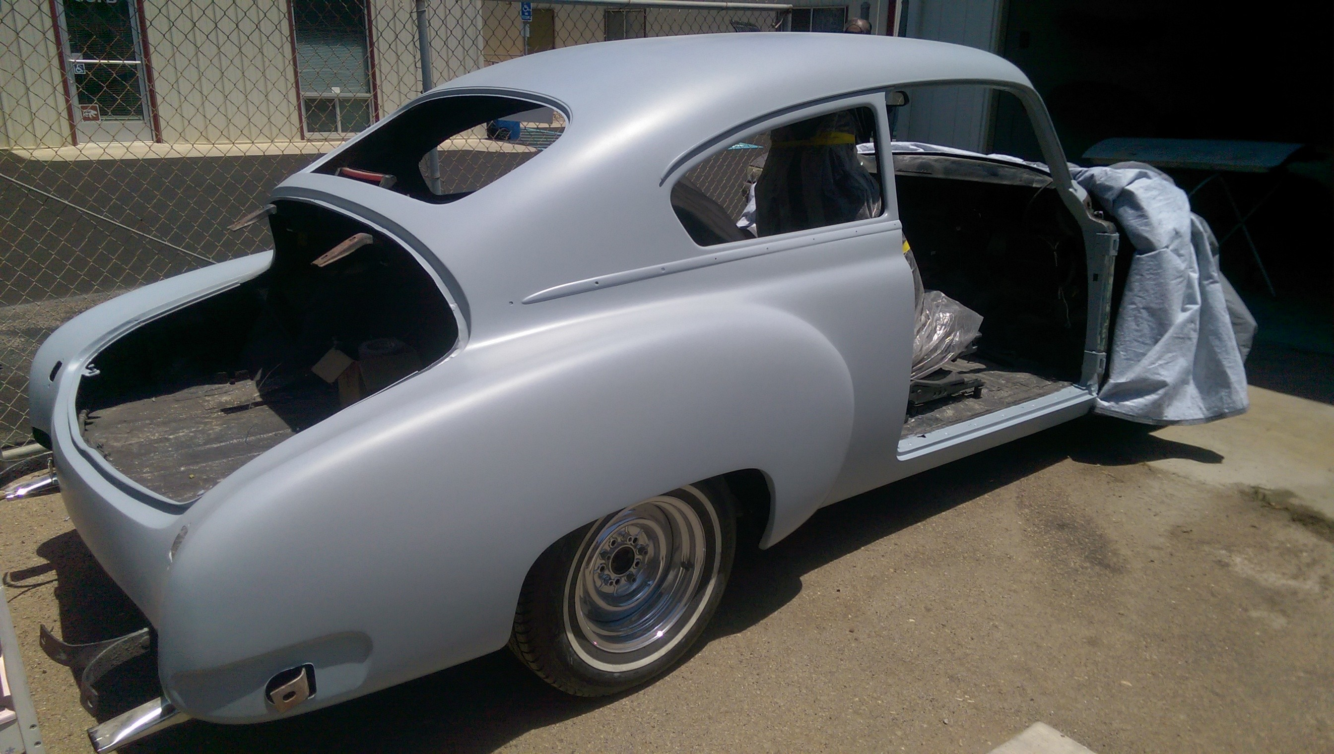 1950 Chevy Fleetline fastback