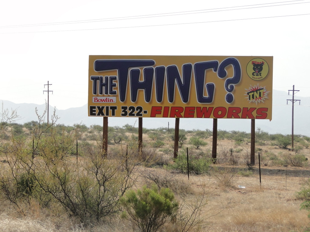 The Thing Billboard
