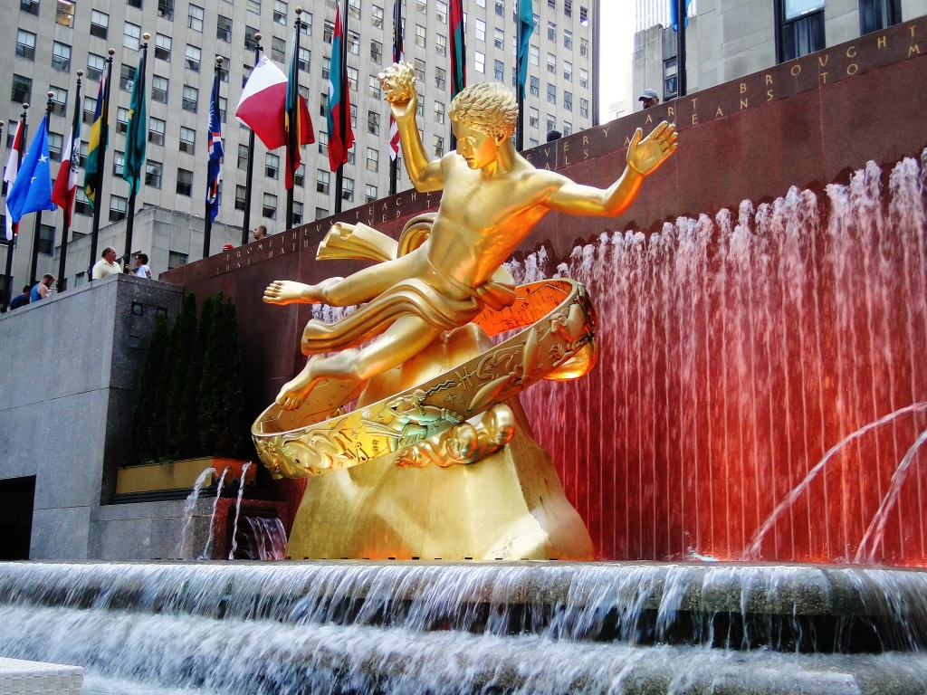 Prometheus in Rockefeller Plaza