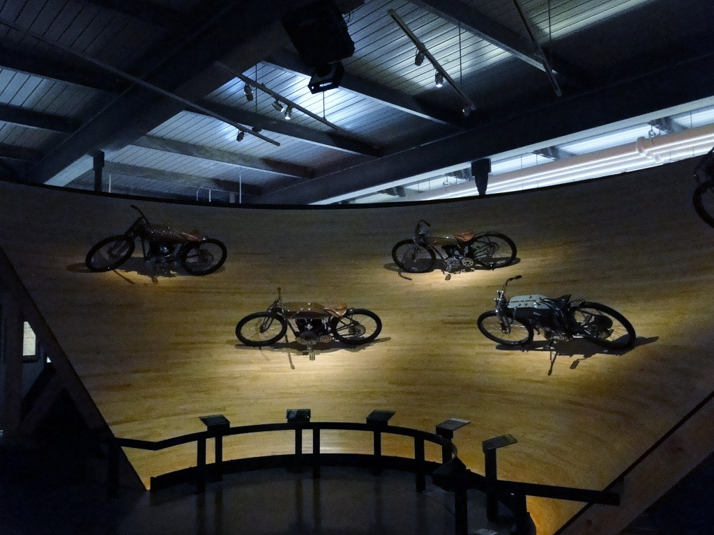 Harley Museum - Board track racers